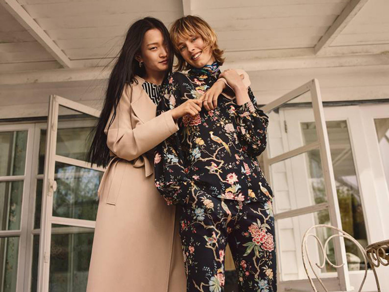 H M announces collaboration with royal fabric designer GP J Baker