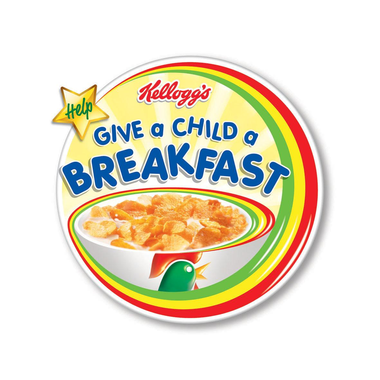 Give a child a breakfast and win a years supply of breakfast for