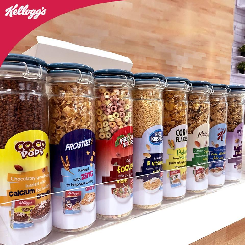 Kellogg s opens their first SouthEast Asian cereal cafe in Ang Mo