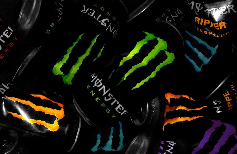 Green Blue Orange Monster Energy Full HD Wallp Wallpapers
