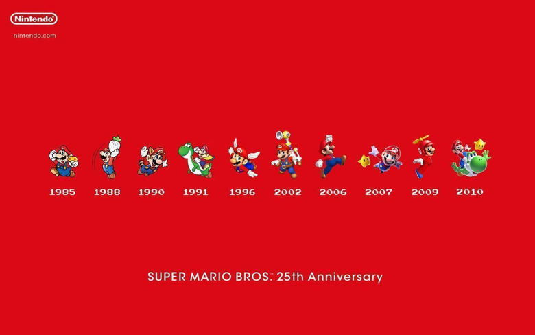 Celebrate Mario Wallpapers