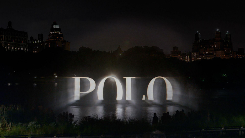 POLO Ralph Lauren Holographic 4D Fashion Event A Towering