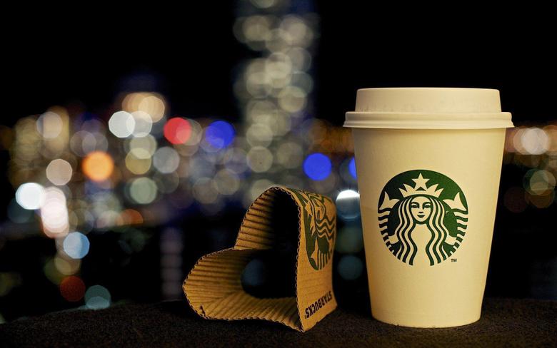 Paper Heart Shaped Starbucks Coffee HD Wallpapers