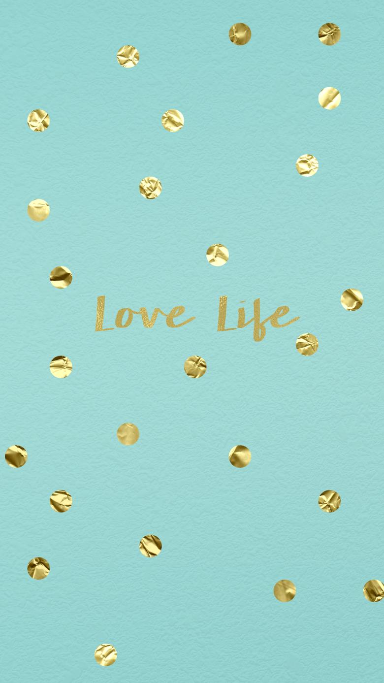 wallpaper background hd iphone gold confetti tiffany blue