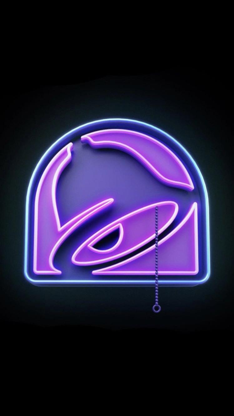 Taco Bell iPhone wallpapers posted from their Instagram tacobell