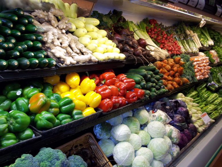 Fresh Food Market HD Wallpaper Backgrounds Image