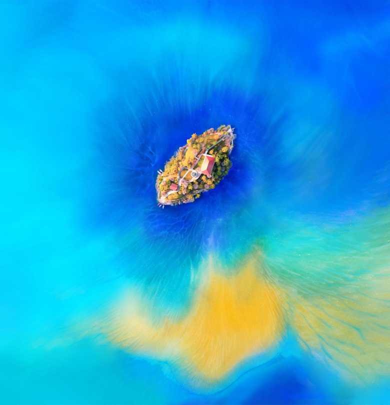 Official Huawei Mate 20 Pro and Mate 20 X Stock Wallpapers