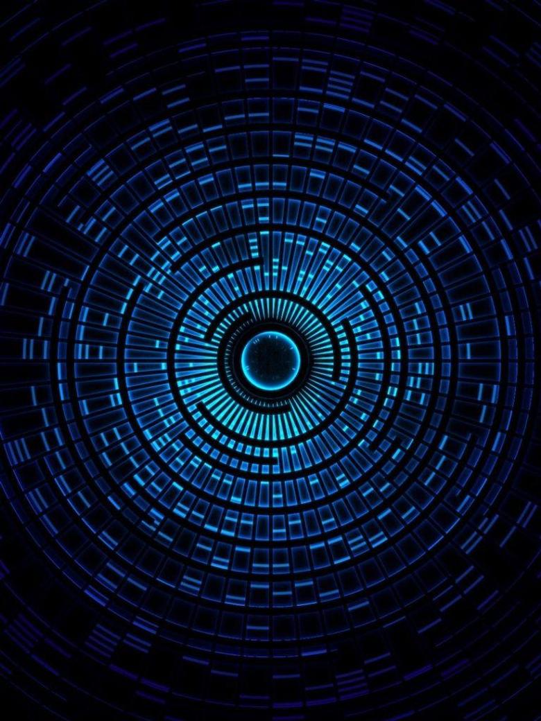x1024 Pendulum Blue Ipad mini wallpapers