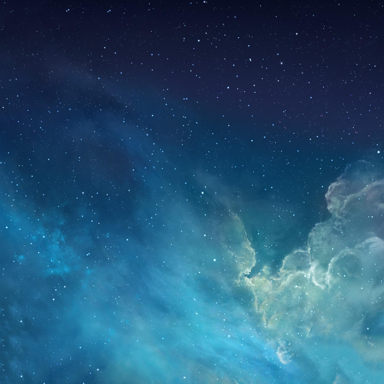 Fantasy Shiny Starry Outer Space Universe iPad Air Wallpapers