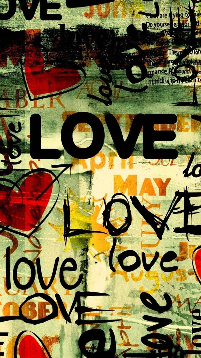 Wallpapers Iphone 6 Writing Love 4 7 Inches