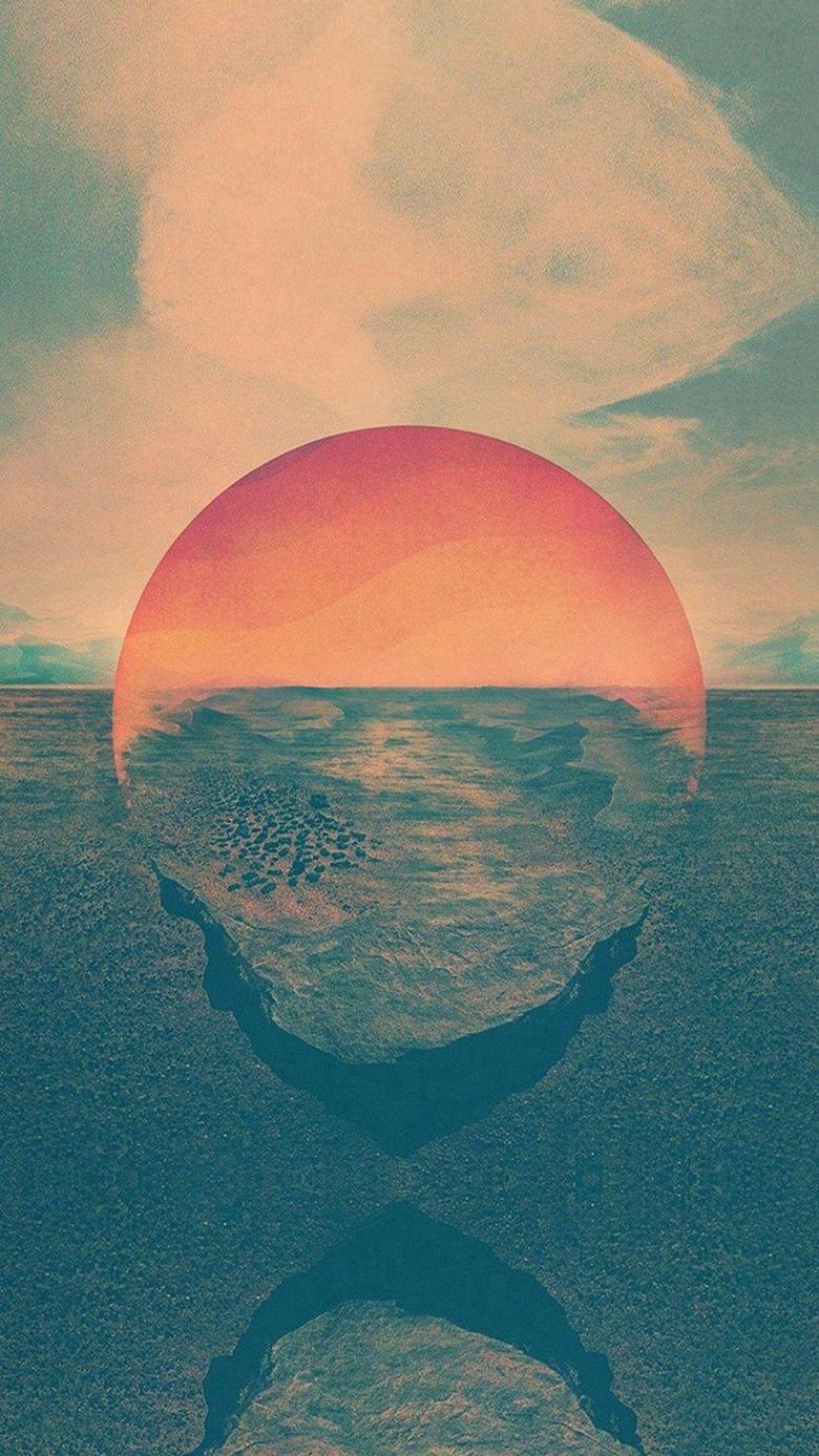 The Magic Sunset Wallpapers Best Of Sunset Sea Water Bokeh orange