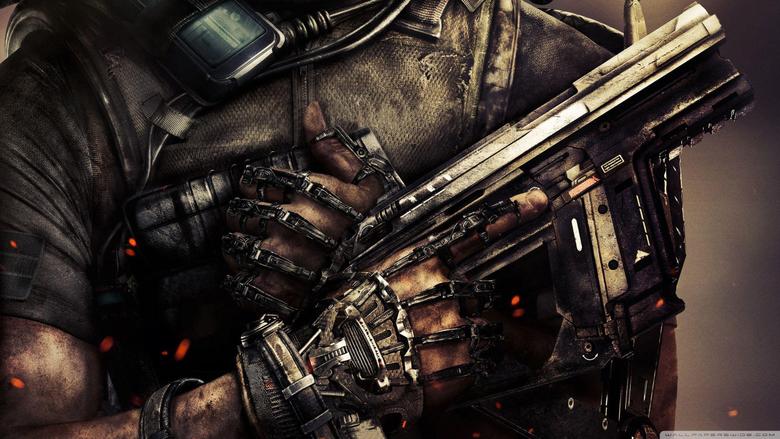 COD Advanced Warfare Guns HD desktop wallpapers Widescreen High