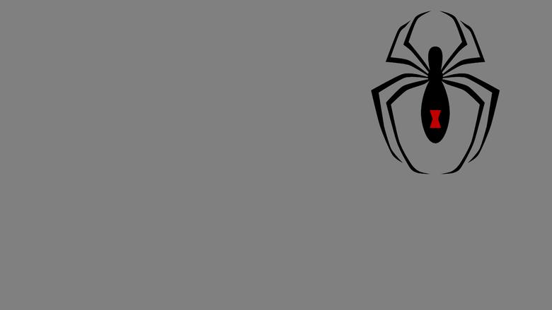Black Widow Symbol I WP by MorganRLewis