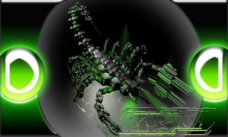 cyber scorpion Computer Wallpapers Desktop Backgrounds 2650x1600