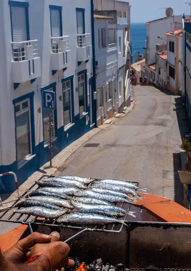 HD wallpaper portugal lagos street fish old street