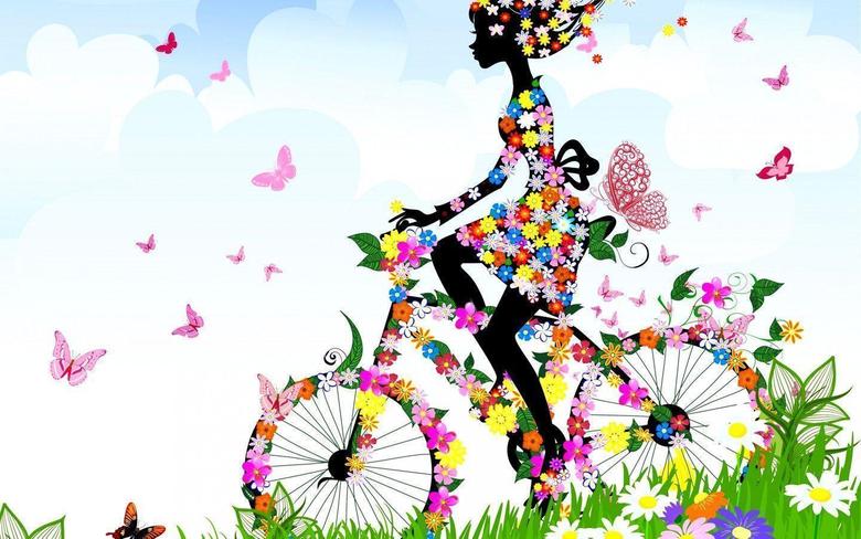 Cycling Amongst Butterflies