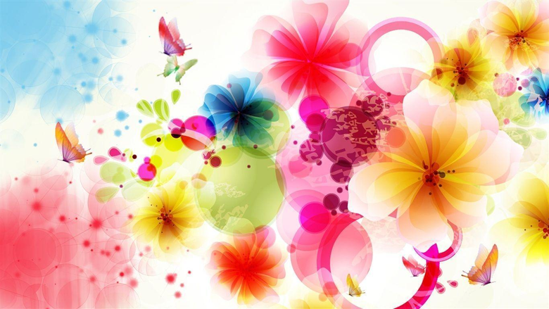 Wallpapers For Wallpapers Flowers And Butterflies