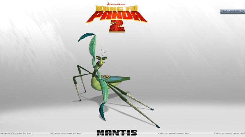 Mantis in Kung Fu Panda 2 Wallpapers