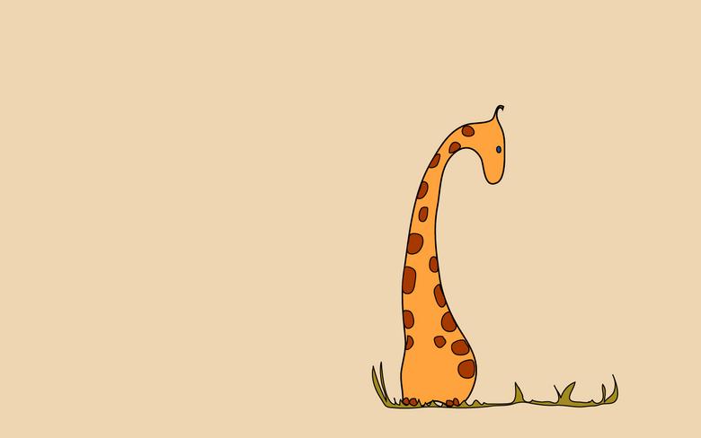Giraffe Giraffes Seeking Illustrated Please Amp Thank You