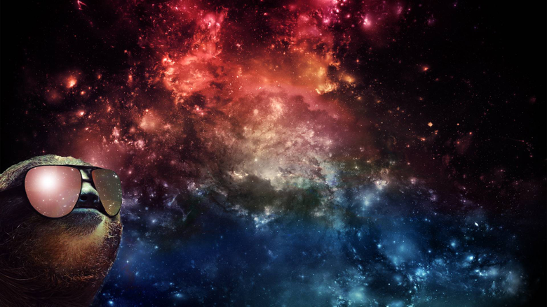 Astronaut Sloth Wallpapers