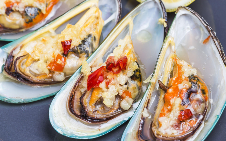 wallpapers oysters mussels seafood fish dishes