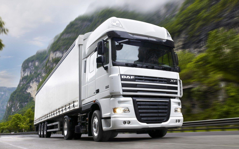 Daf Trucks USA In White HD Wallpapers Latest Cars Models Collection