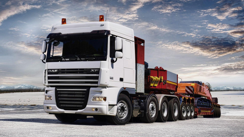 White Daf Truck Wallpapers Wallpapers