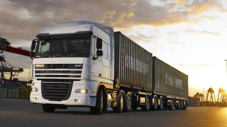 Photo lorry DAF Trucks auto 3840x2160