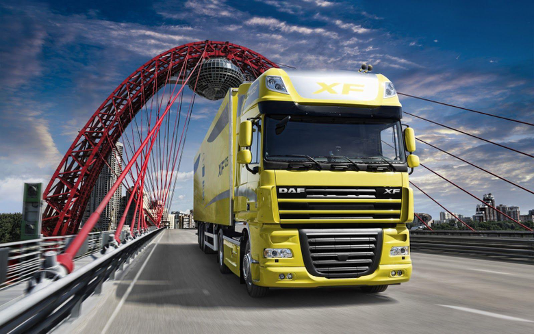 Daf Trucks Wallpapers In Yellow Coloure Cars Wallpapers HD