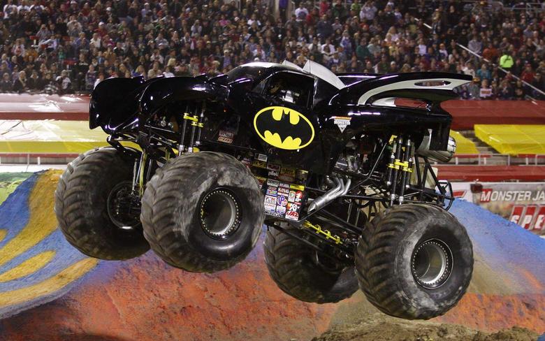 batman monster truck wallpapers