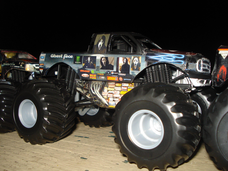 Scream image Ghostface monster truck HD wallpapers and backgrounds