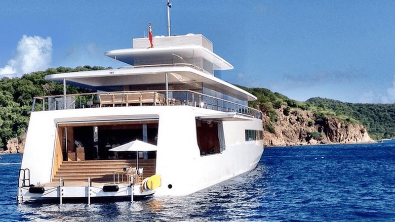 Steve Jobs secret yacht The rare new image