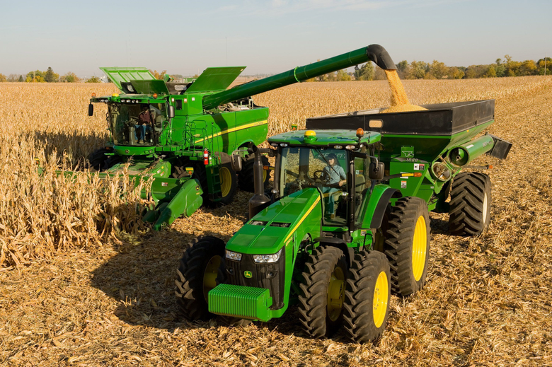 John Deere Tractors Wallpapers Group