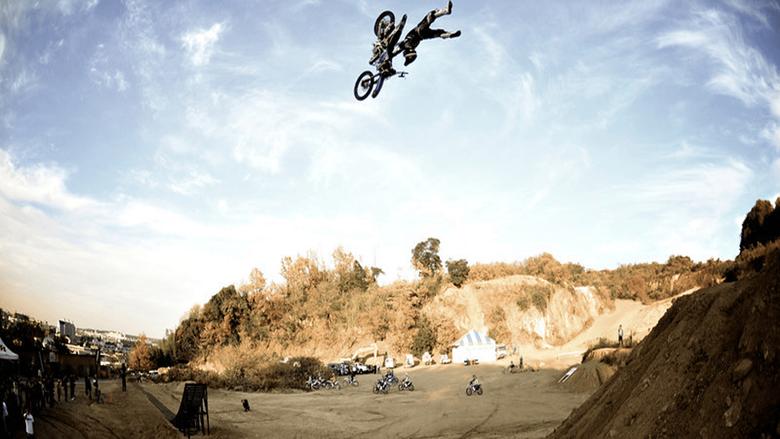 Dirt Bike Stunt
