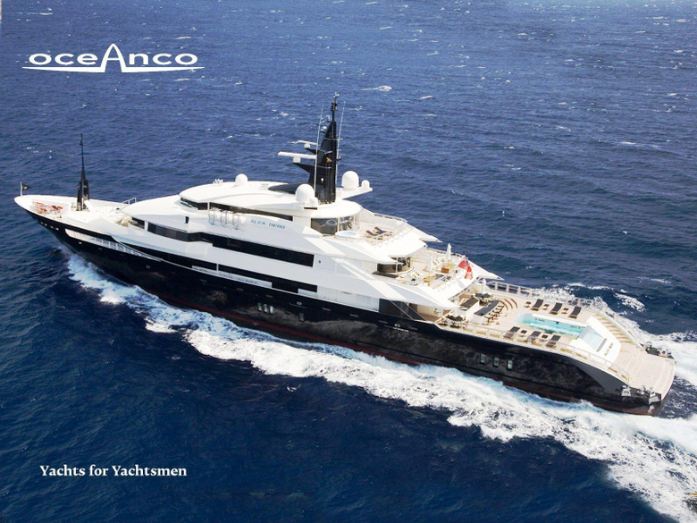Motor Yacht ALFA NERO Underway Superyachts News Luxury Yachts