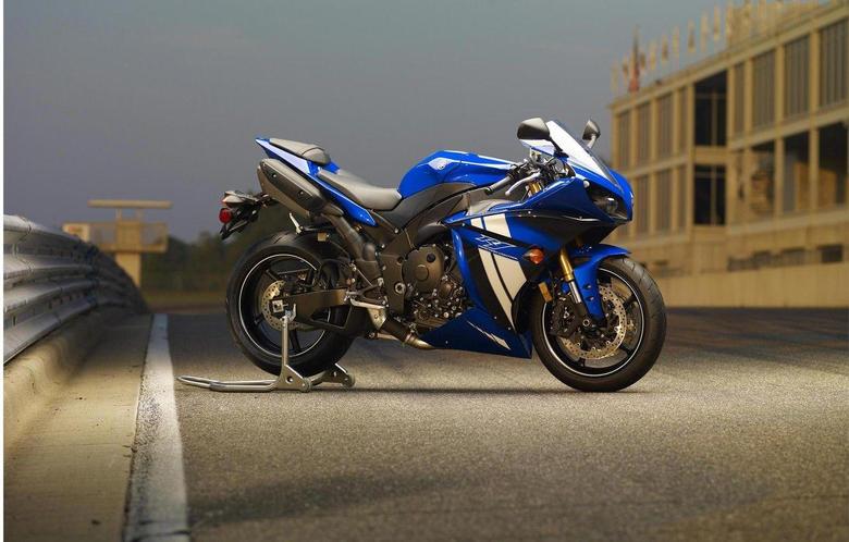 Wallpapers blue motorcycle yamaha bike blue Yamaha supersport