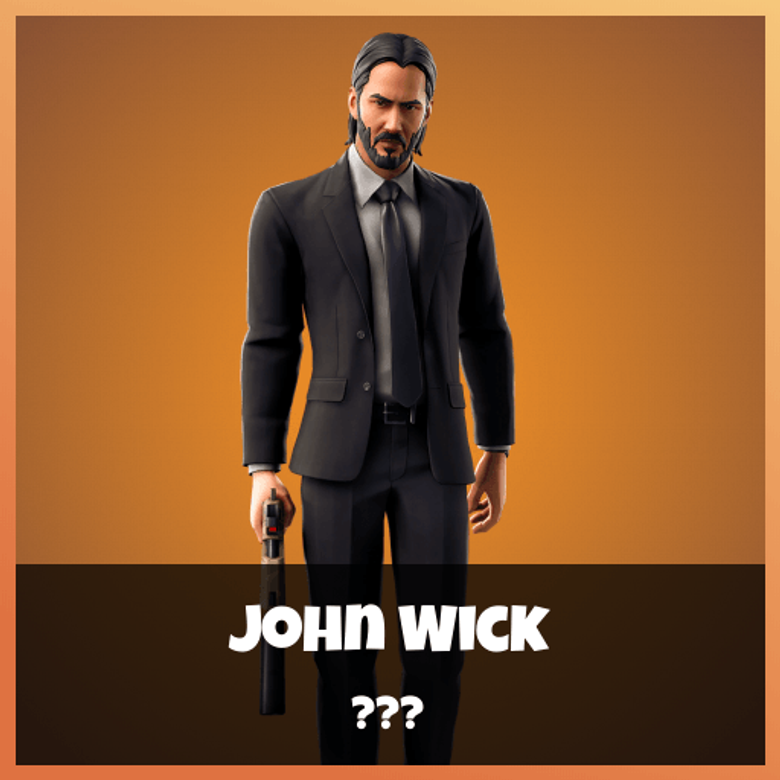 John Wick skin Fortnite wallpapers