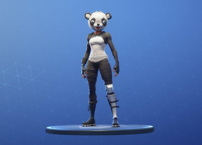 P A N D A Team Leader Fortnite Outfit Skin How to Get