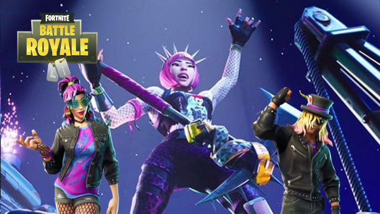 Fortnite Twitter Hints at Power Chord Skin being Available on