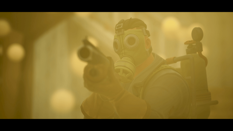 Don t breath in the gas Screenshot from my Sky Stalker trailer