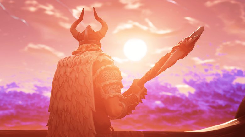 Here s a screenshot I took of Magnus while filming his cinematic