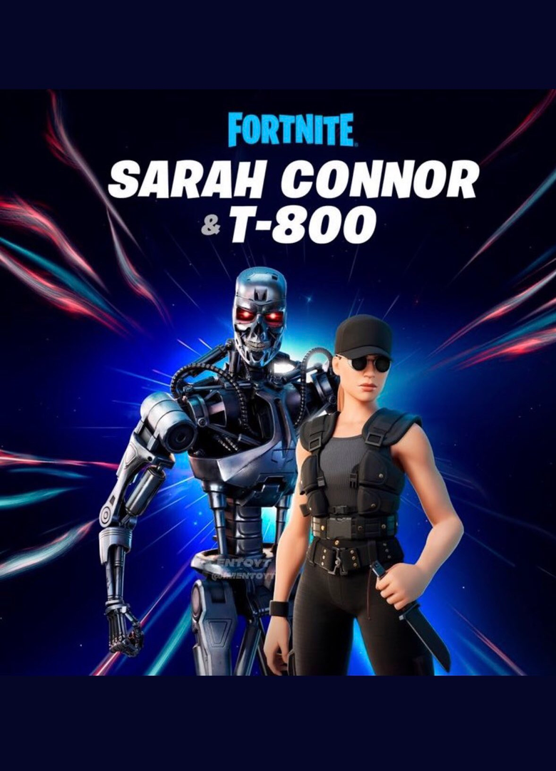 Sarah Connor Fortnite wallpapers