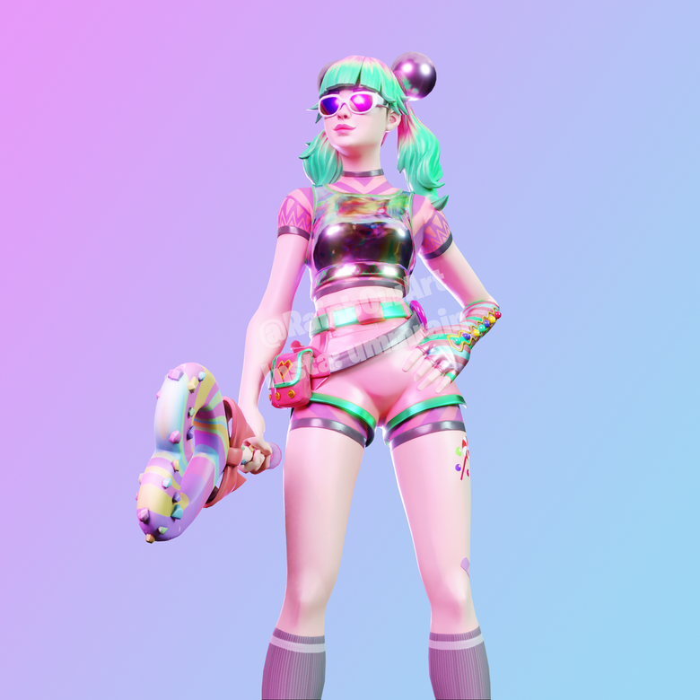 Tropical Punch Zoey Fortnite wallpapers
