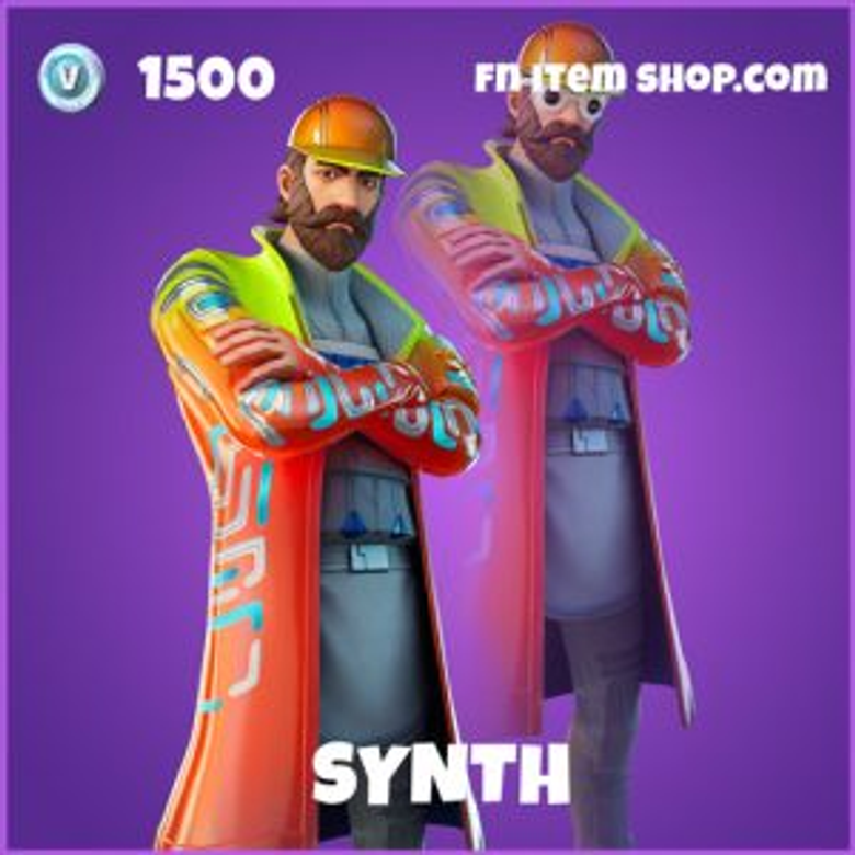 Synth Fortnite wallpapers