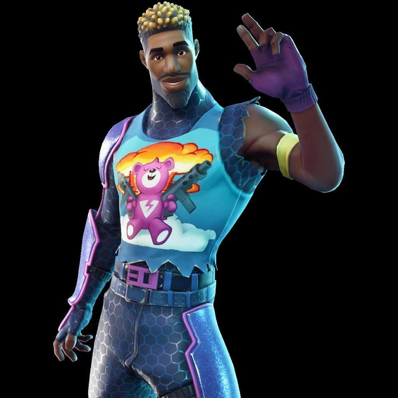 Another new skin found in the fortnite v3 6 called