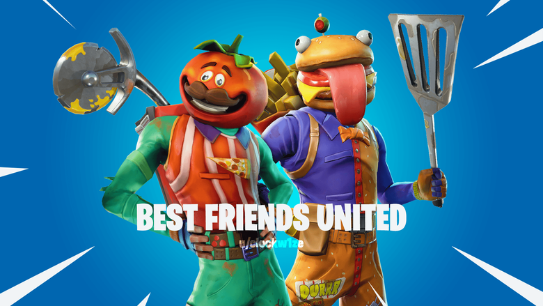 Best Friends United Tomatohead and Beefboss FortNiteBR