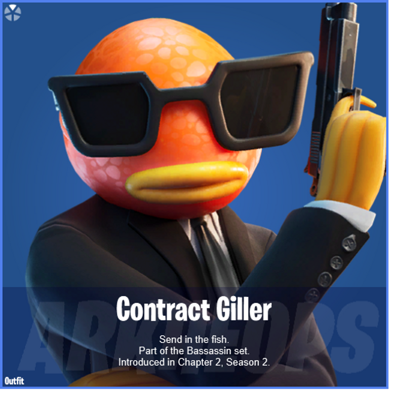 Contract Giller Fortnite wallpapers