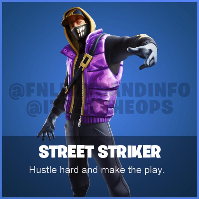 Street Striker Fortnite wallpapers