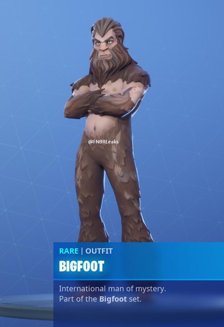Bigfoot Fortnite wallpapers