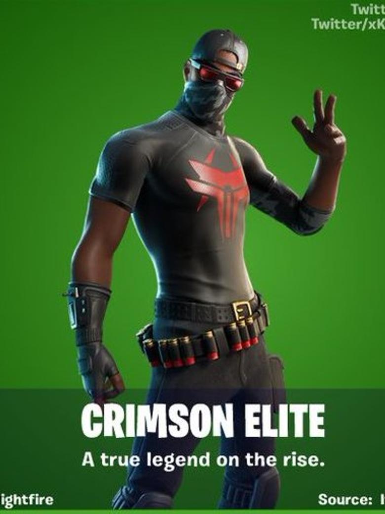 Crimson Elite Fortnite wallpapers